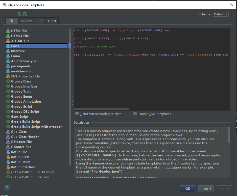 Create your own File Templates in Android Studio   Zdeněk